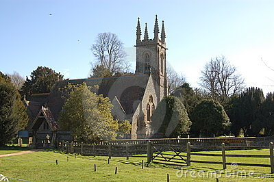 Saint Nicholas church, Chawton