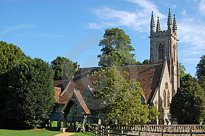 Saint Nicholas Church in Chawton, Hampshire