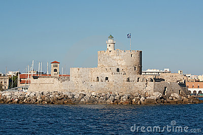 Saint Nicholas Fort, Rhodes, Greece