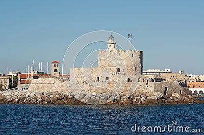 Saint Nicholas Fort, Rhodes, Greece