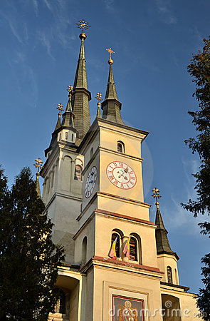 Saint Nicholas orthodox Church in Brasov, Romania