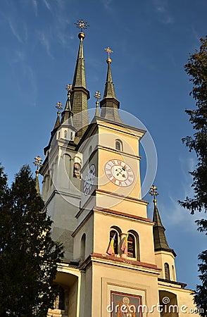 Saint Nicholas orthodox Church in Brasov, Romania