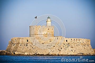 St. Nicholas Fortress, Rhodes, Greece