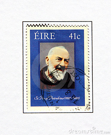 Saint padre pio Editorial Stock Photo