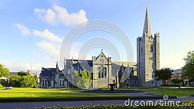 Saint Patrick Cathedral Dublin Ireland