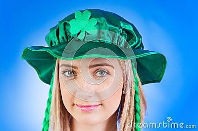 Saint Patrick day concept
