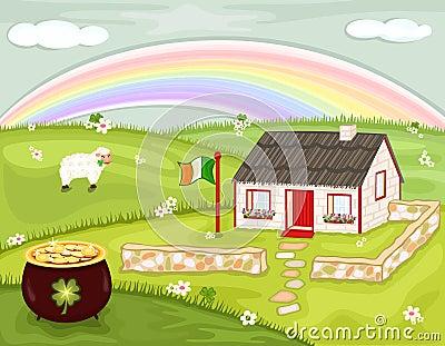 Saint Patrick Day in Ireland