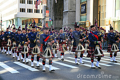 The Saint Patrick Day Parade Editorial Photography