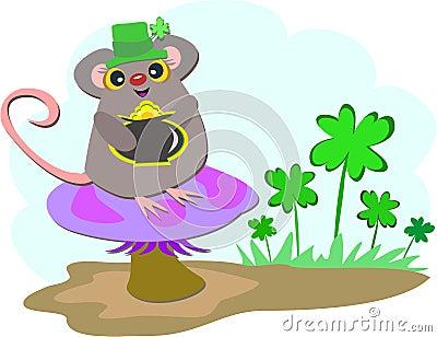 Saint Patrick Mouse