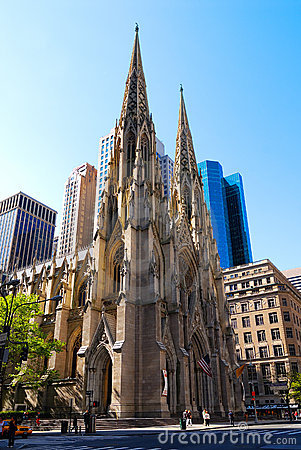 Free Saint Patrick S Cathedral, New York Stock Photo - 3894270