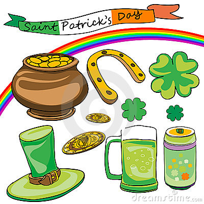 Saint patrick s day doodles
