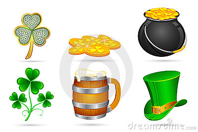 Saint Patrick s Day Elements