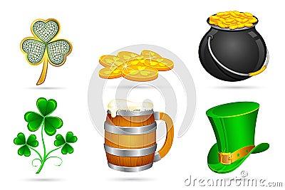 Saint Patrick s Day Elements