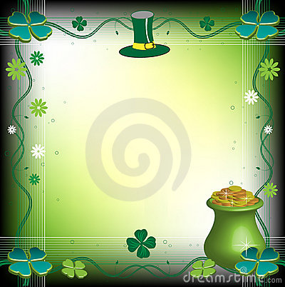 Saint Patrick s Day frame