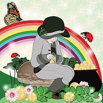 Saint patrick s day illustration