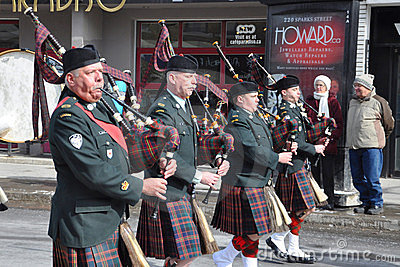 Saint Patrick s Day parade Editorial Stock Photo