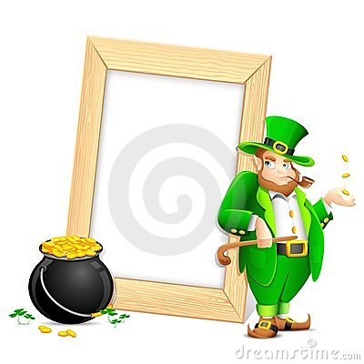 Saint Patrick s Day Photo Frame