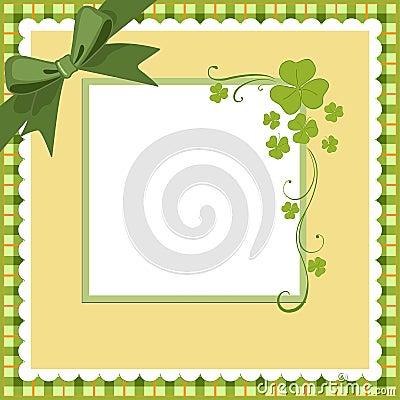 Saint Patrick s Day Postcard