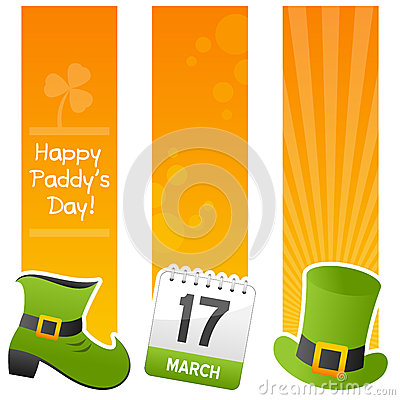 Saint Patrick s Day Vertical Banners