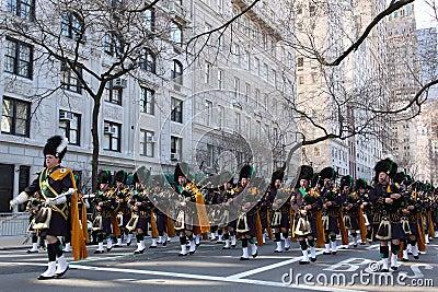 Saint Patricks Day Parade, New York City Editorial Photography