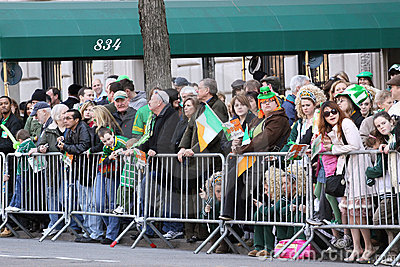 Saint Patricks Day Parade, New York City Editorial Stock Photo
