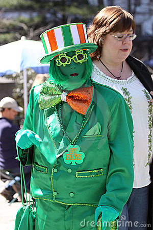 Saint Patricks Day Parade, New York City Editorial Image