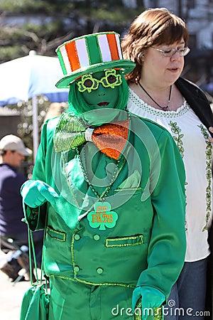 Saint Patricks Day Parade, New York City Editorial Image