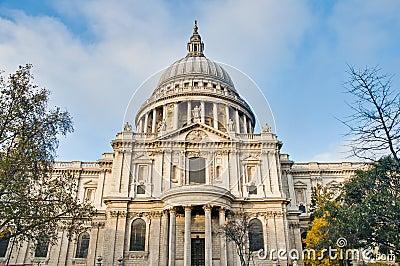 Saint Paul Cathedral at London, England