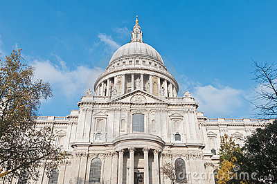 Saint Paul Cathedral at London, England