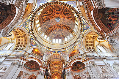 Saint Paul s cathedral - interior details