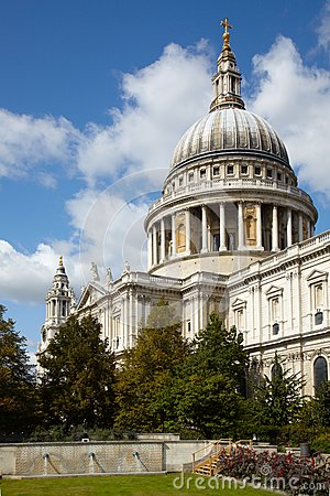 Saint Paul s cathedral in London