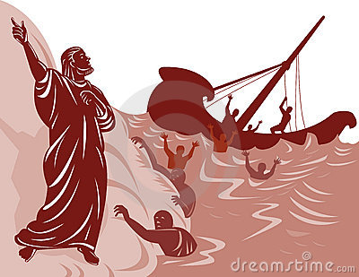 Saint Paul and shipwreck
