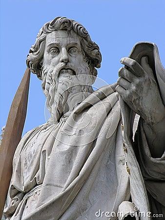Saint Paul with sword