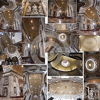 Saint peter, interior Vatican