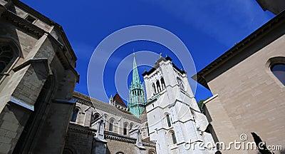 Saint-Peter s cathedral in Geneva, Switzerland