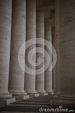 Saint Peter s columns
