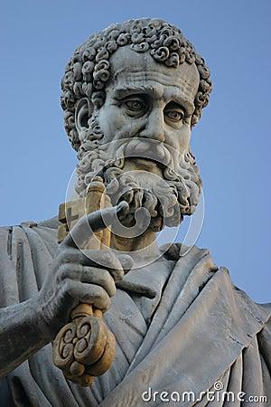 Free Saint Peter Sculpture Stock Photos - 417053