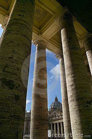 Saint Peter square - Rome - Italy