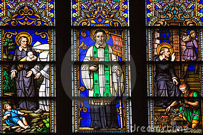 Saint Peter Stained Glass St. Patrick s Cathedral