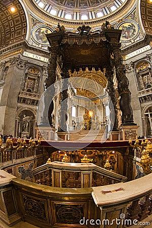 Saint Peter, Vatican, altar