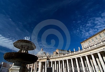 Saint peters basilica, roma