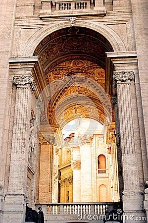 Saint Peter's Passage to Cupola