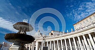 Saint peters square, roma