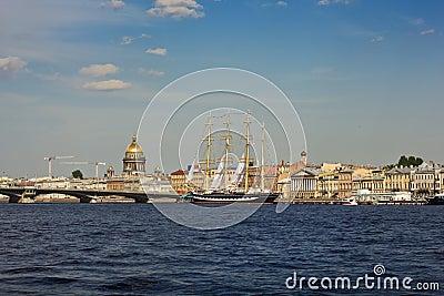 Saint-Petersburg cityscape