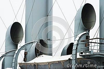 Saint Petersburg, cruiser Aurora (detail)