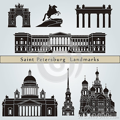 Saint Petersburg landmarks and monuments