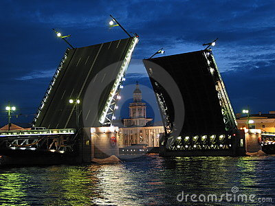 Saint Petersburg Raised Bridge