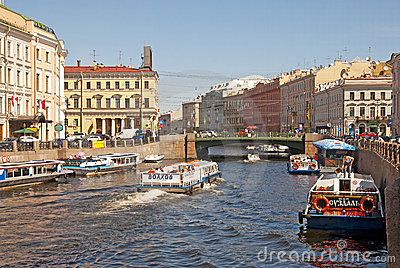 Saint-Petersburg. Russia Editorial Stock Photo