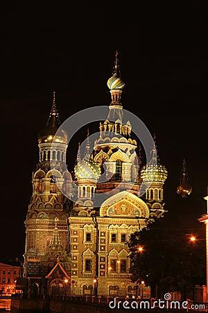Free Saint-Petersburg, Russia, Church Spas Na Krovi Stock Image - 19754601