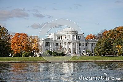 Saint-Petersburg, Russia. Elagin Palace